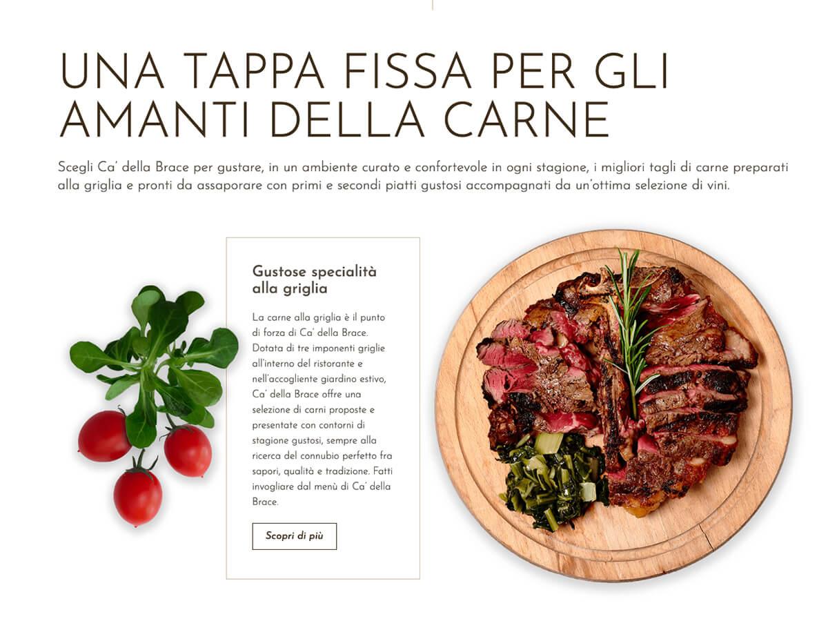Creare un sito web per ristorante