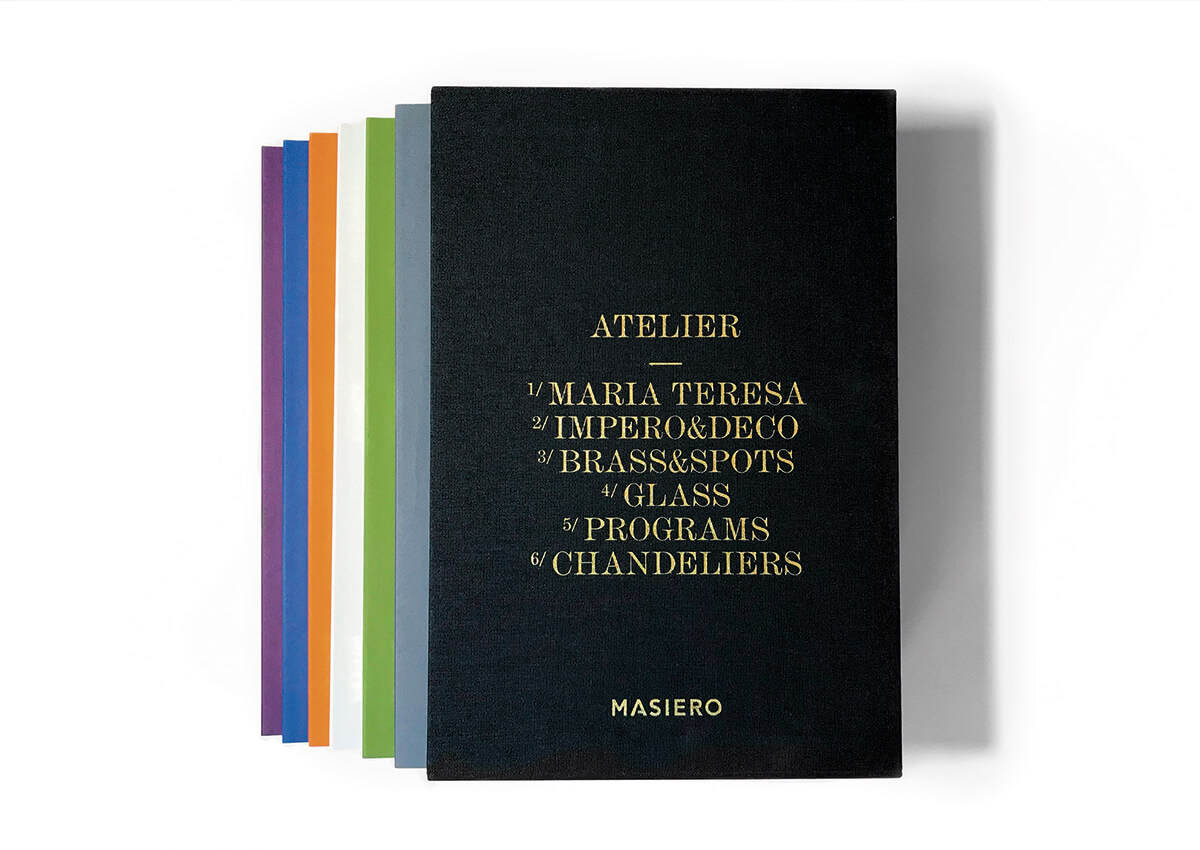 Realizzazione e stampa catalogo per Masiero Venezia