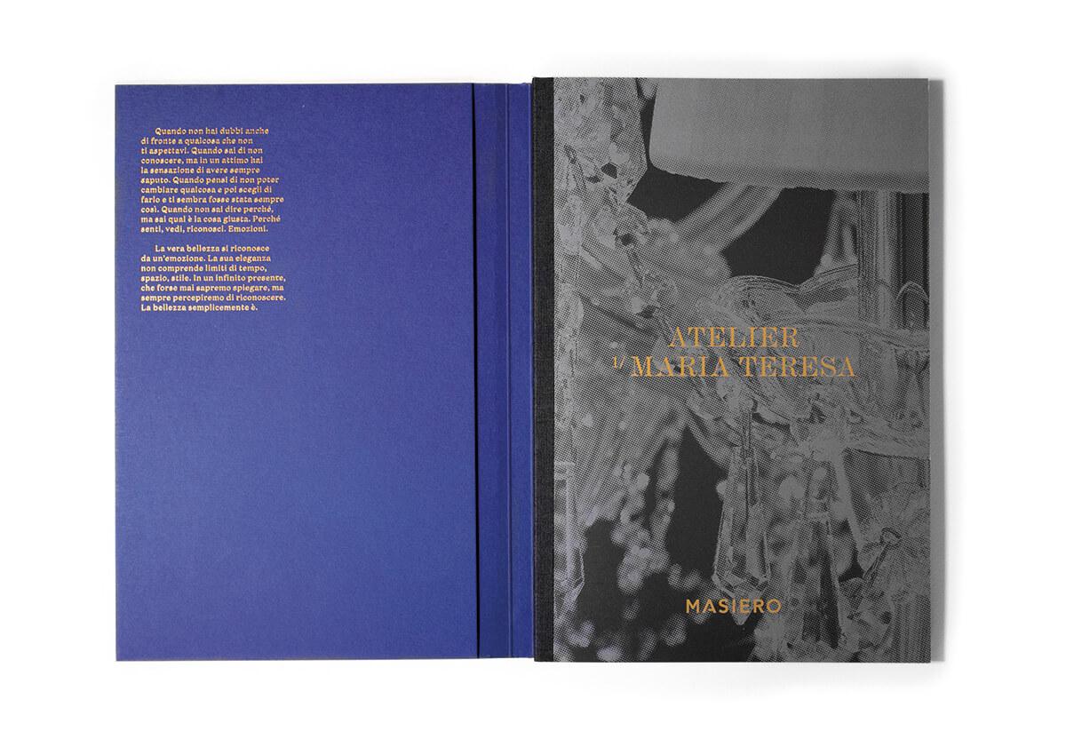Realizzazione e stampa del catalogo aziendale per Masiero Venezia Mestre