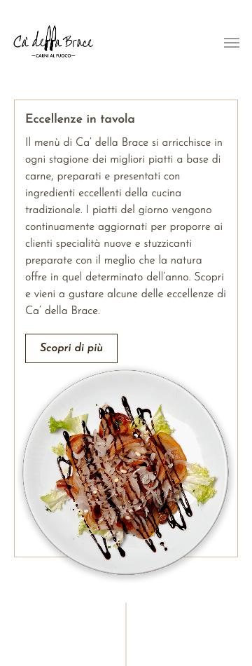 Sito web per ristorante a Mestre Venezia