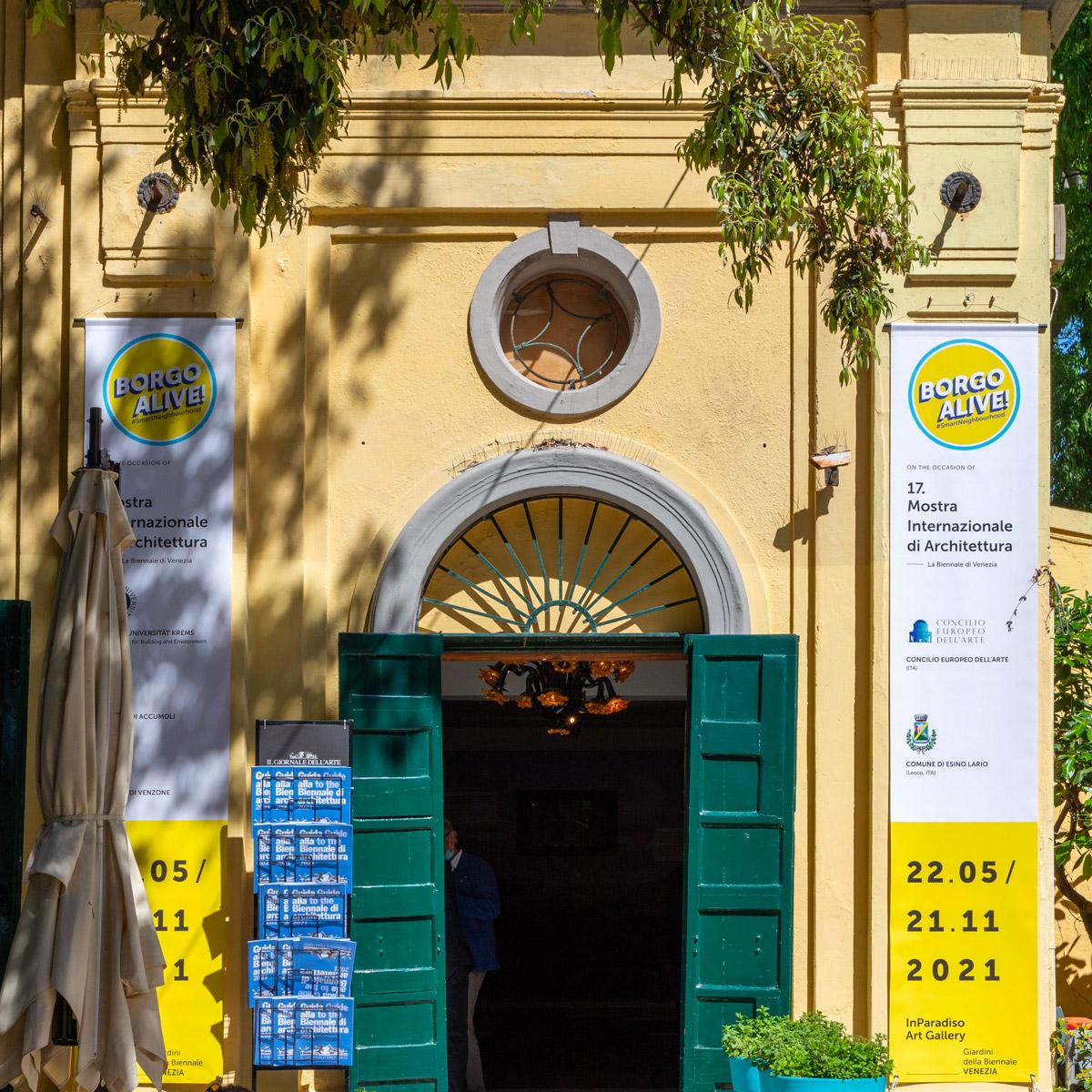Mostra Concilio Europeo dell'arte a Venezia